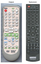 Original DTV Sylvania/Emerson NF602UD Replacement TV Remote Control by Anderic