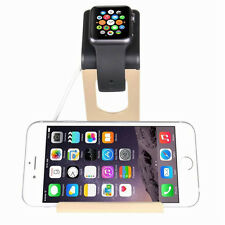 Aluminum Stand Charging Cradle Dock Station Holder for Apple Watch iWatch iphone