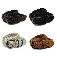 Belt Braided People's Genuine Leather Casual Belt Different Colors