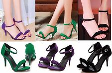 New Sexy Women Platform Open Toe High Heels Bow Sandal  Fashion Shoes