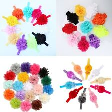 Lovely Girl Baby Toddler Infant Flower Headband Hair Bow Clips Band Accessories