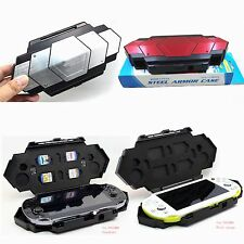 Steel Armor Travel Case Cover Storage Box for Sony Playstation PS Vita1000/ 2000
