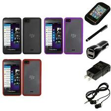 For BlackBerry Z10 TPU Hard Case Skin Phone Cover Headphones