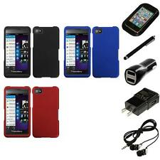 For BlackBerry Z10 Snap-On Hard Case Phone Skin Cover Accessory Headphones