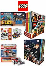 LEGO Children's Books Collection Set Star Wars, Ninjago, Chain Reactions, Crazy