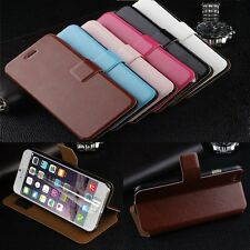 Luxury Magnetic Flip Wallet Stand Leather Case Cover Skin for iPhone 6/6S Plus