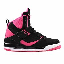 Nike Jordan Flight 45 High Black Pink Youths Trainers