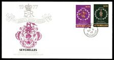 September 5, 1977 Queen's Silver Jubilee first-day cover Seychelles