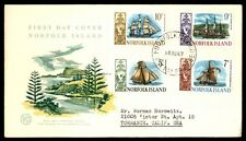 Norfolk Island 1967 WCS Ships Cacheted First Day Cover to 10 Cents