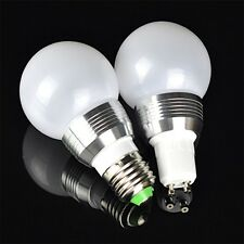 AC85V-265V LED RGB 5W Ball Changing Lamp Light Bulb With Remote Controller ME