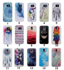 Fashion Soft Silicone TPU Rubber Gel Back Case Cover For Samsung Galaxy S3 S4 S5