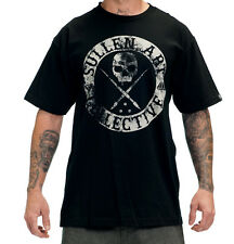 SULLEN Badge of Honor Blaq Mens T -shirt Tee Streetwear Tattoo Urban New Black