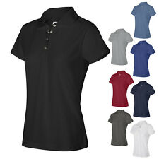 IZOD Womens Short Sleeve Ladies Performance Pique Sport Shirt with Snaps 13Z0081