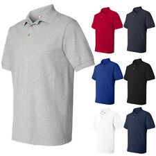Hanes Cotton Mens Short Sleeve Polo Pique Sport Shirt 055X