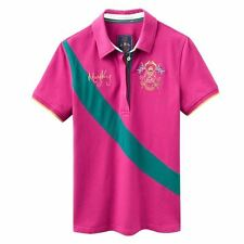 Joules Womens Mary King Polo Shirt Short Sleeve Collar Neck Top Robinsons New