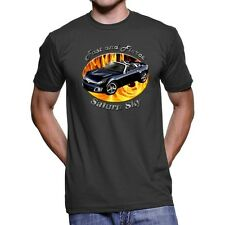 Saturn Sky Fast And Fierce Men`s Dark T-Shirt