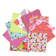 Fabric Palette Cotton Charm Pack 20 Squares Assorted Patterns Patchwork Sewing