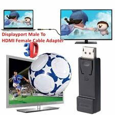 Quality Displayport To HDMI Adapter Displayport Male To HDMI Female Adapter DP