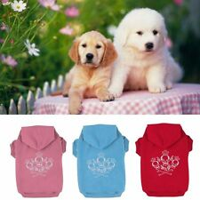 Casual Puggy Pet Dog Clothes Warm Hoodie Coat Jacket Clothing For Small Pet Dog