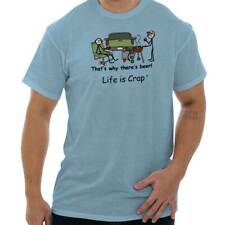 Life Is Crap Tailgating Good Life Funny Shirts Gift Ideas T-Shirt Tee