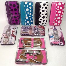 Men/ Women 13 Pedicure Manicure Set Stainless Nail Clippers Cuticle Grooming Kit