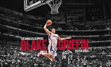 Blake Griffin Basketball Star Art Print poster (40x24inch)Decor 16