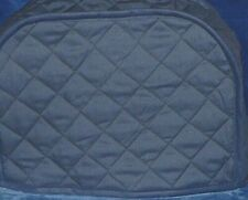 Quilted Navy Kitchen Appliance Covers 2-4 Slice Toaster Made to Order