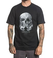 Sullen Rogue Skull Mens T -shirt Tee Streetwear Tattoo Art Urban Black