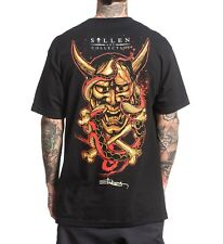 Sullen Henya Mens T -shirt Tee Streetwear Tattoo Art Urban Black