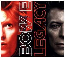 DAVID BOWIE-LEGACY (THE VERY BEST OF DAVID BOWIE) (DELUXE)-CD (2) PLG UK NEW