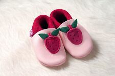 Pololo Soft Baby Leather Shoe Berry