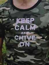 the Chive *Authentic* KCCO Camo Men's t-shirt Keep Calm and Chive M L XL XXL 3XL