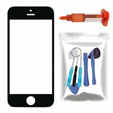 For Apple iPhone 5 Black Front Outer Touch Screen Lens Glass/Repair Part Tools