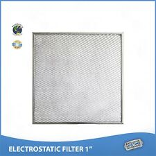 16x20x1 Lifetime Air Filter Electrostatic Permanent Washable Furnace & A/C