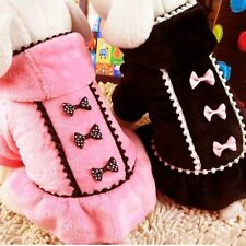 Winter Small Pet Coat Dog Jacket Sweater Coat Clothes Puppy Cat Clothing Apparel