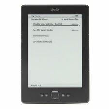 Amazon Kindle 4th Gen Model D01100 - 2GB - Wi-Fi 6in - BLACK