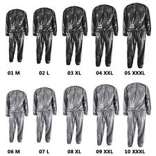 Heavy Duty Fitness Weight Loss Sweat Sauna Suit Exercise Gym Anti-Rip Suit M-3XL