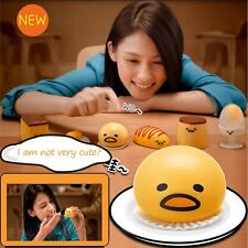 Kid Happy Squeeze Vomiting Egg Yolk Stress Relief Tricky Fidget Toy Joke Gift YH
