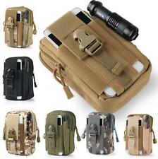 Waterproof Tactical Bag Waist Camping Hiking Military Army Small Bag Pouch US D2