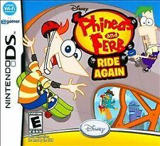 Phineas and Ferb: Ride Again (Nintendo DS, 2010)  BRAND NEW, FREE SHIPPING!!!