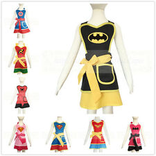 3-12 Childrens Kids Boys Girls Apron Halloween Outfit Fancy Dress Up Costume