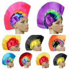 Mohawk Hair Wig Mohican Punk Rock Fancy Dress Cosplay Party Costume Hair