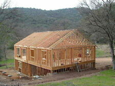 6 Plans How To Build House - Floor Walls Foundation Truss Roof  Foundation