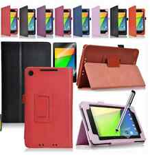 Flip PU Leather Wallet Stand Protective Case Cover For Asus Google Nexus 7 2th