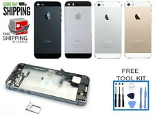 iPhone 5 5s Full Assembly Naked Back Housing Replacement Cover Frame Rear Bezel