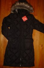 The North Face Womens Redhook 550 Down Parka TNF Black M XS New