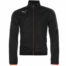 Puma Evo Thermo Regulating Training Jacket Mens Black Track Run Top Sportswear
