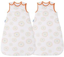 Grobag Baby Sleeping Bag 2.5 Tog TWIN PACK - Fireworks (6-18 & 18-36 months)