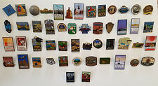 National Park Pin Collection Pins Buttons Americana Travel NPS