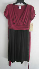Nice NEW Maternity Dress size S Cocktail Black Wear to Work NWT $54 retail small